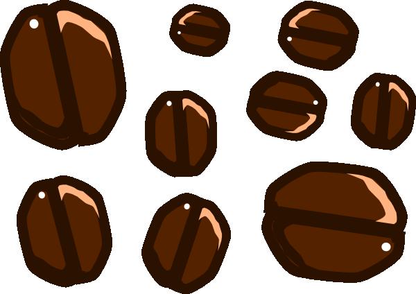 cartoon coffee beans clip art at clkercom vector clip