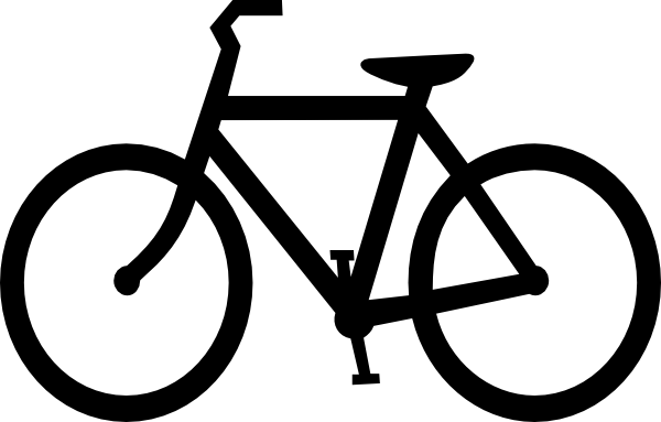 Bicycle Silhouette Clip Art At Clker Com Vector Clip Art