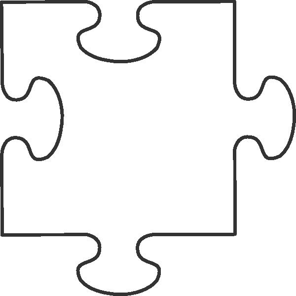 Transparent Puzzle Piece Clip Art At Clker Com Vector