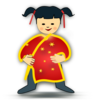 Chinese Girl Clip Art