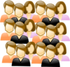 Crowd Of People Clip Art