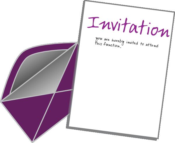 Invite Card Clip Art At Clker Com Vector Clip Art Online