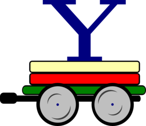 Toot Toot Train Carriage Clip Art