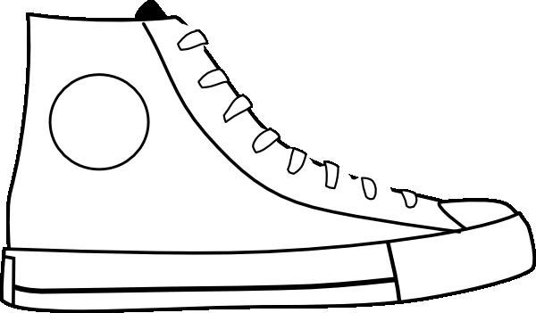 white shoe clip art at clker com