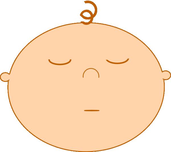 Sleeping Baby Clip Art at Clker.com - vector clip art ...