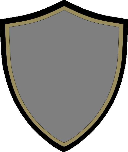 Gold Silver Shield Clip Art At Clker Com Vector Clip Art