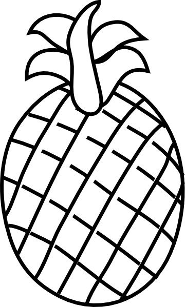 Pineapple Clip Art At Clker Com Vector Clip Art Online