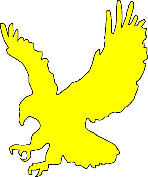 Yellow Eagle Clip Art at Clker.com - vector clip art ...