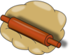 Rolling Pin Clip Art