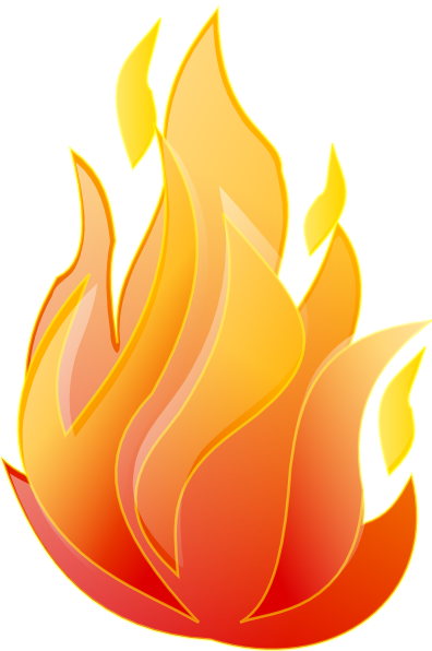 Clipart Clean Fire on Toothbrush Clip Art
