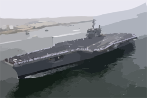 Uss Constellation (cv 64) Returns To Its Homeport In San Diego Clip Art