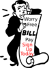 Automatic Bill Pay Clip Art