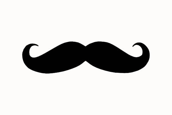 free vector mustache clip art - photo #32