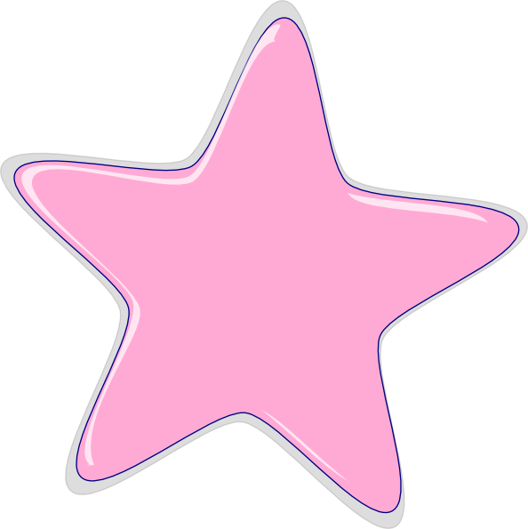 pink star clip art at clker com vector clip art online show clip art image of black old people shoe clip art 2d