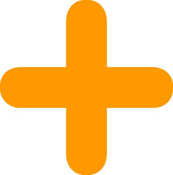orange plus clip art at clker com vector clip art online plus sign clip art images plus sign clip art black and white