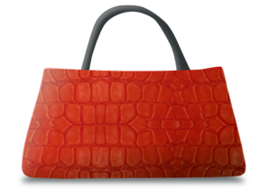 Red Leather Handbag Clip Art