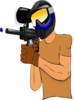Paintball Guy Clip Art
