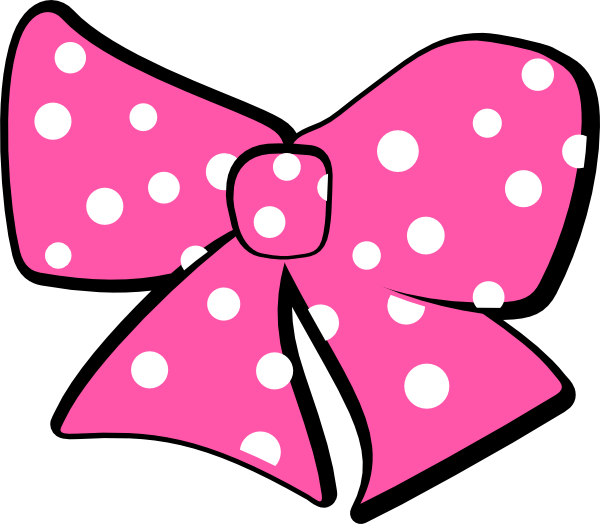 Minnie Mouse Bow Clip Art at Clker.com - vector clip art ...