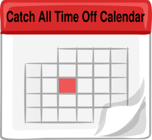 Catch All Time Off Clip Art