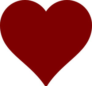 Small Red Heart With Transparent Background Clip Art at ...