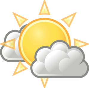 weather few clouds clip art at clker com vector clip art sunny clipart black and white sunny clipart gif