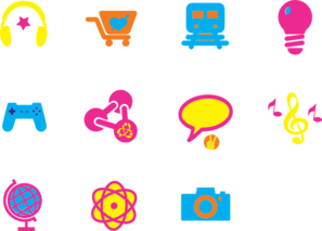 Icons Without Background Clip Art