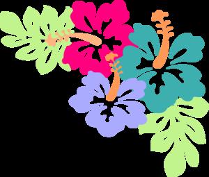 Clipart Hibiscus Corner 12