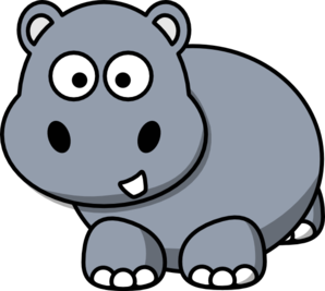 Side Hippo Clip Art At Clker Com Vector Clip Art Online