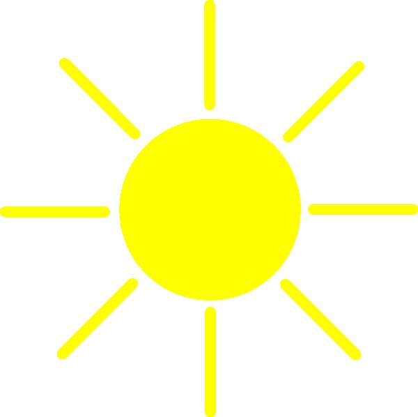 Sun Yellow Clip Art at Clker.com - vector clip art online ...