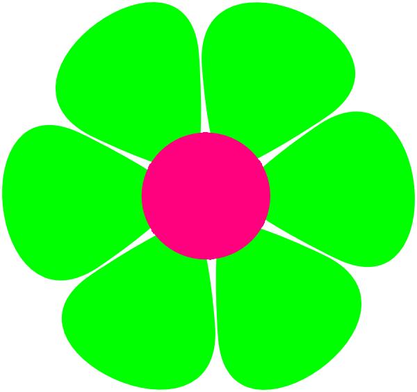 Black Flower 3 Clip Art At Clker Com: Flowerpower Clip Art At Clker.com