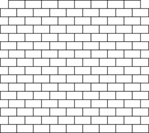 Brick Wall Coloring Page Coloring Pages