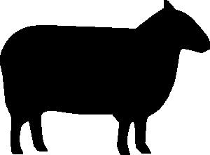 sheep silhouette clip art at clker com vector clip art cow face silhouette clip art cow face silhouette clip art