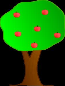 apple tree clip art at clker com vector clip art online banana tree clipart png Cartoon Banana