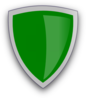 Green Magic Shield Clip Art