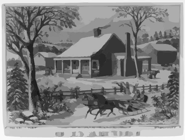 The Old Farm House Clip Art At Clker Com Vector Clip Art