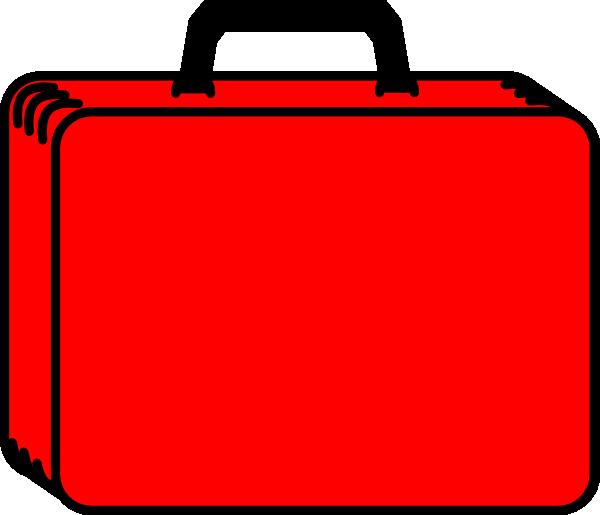 Red Case 2 Clip Art At Clker Com Vector Clip Art Online