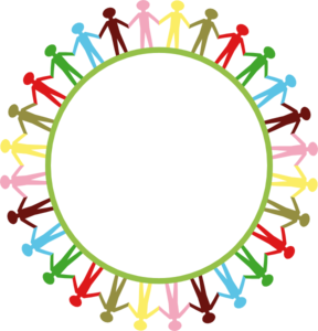 Circle Holding Hands Clip Art