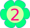 Flower 2 Years     Clip Art