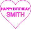Smith Bday13 Clip Art