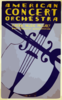 American Concert Orchestra--federal Music Project--works Progress Administration Clip Art
