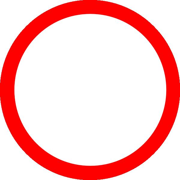 Red Circle Clip Art at Clker.com - vector clip art online, royalty free & public domain