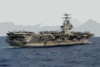 The Nuclear-powered Aircraft Carrier Uss Carl Vinson (cvn 70) Sails In The South China Sea Completing Seven Months Of A Scheduled Deployment Clip Art