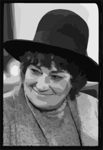 [bella Abzug At Press Conference For National Youth Conference For   72] Clip Art