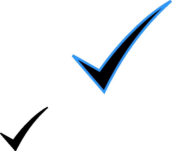 Check Mark Clip Art For Word Microsoft Check Mark Clipart