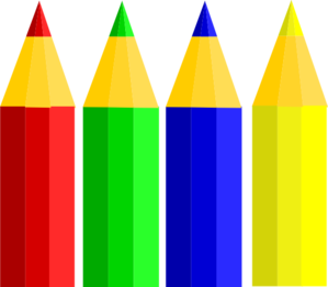 4pencils Clip Art