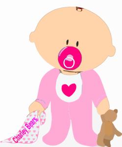 Baby Girl Clip Art