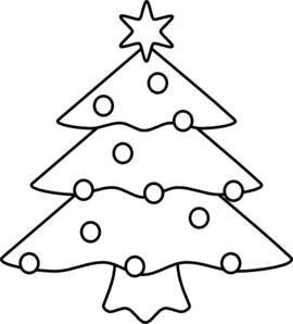 christmas tree clip art at clker com