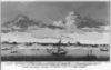 A North View Of Pensacola, On The Island Of Santa Rosa  / Drawn By Dom. Serres. Clip Art