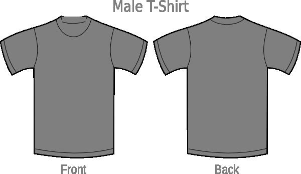 gray t shirt clip art at vector clip art