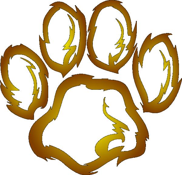 lions paw print clip art at clker com vector clip art free sneaker footprint clipart free sneaker footprint clipart